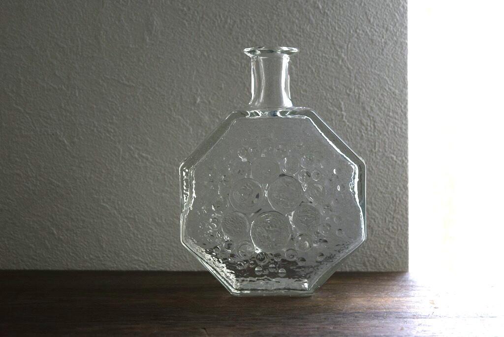 画像1: Riihimaen lasi Stella polaris  ガラスのフラワーベース(花器) (1)