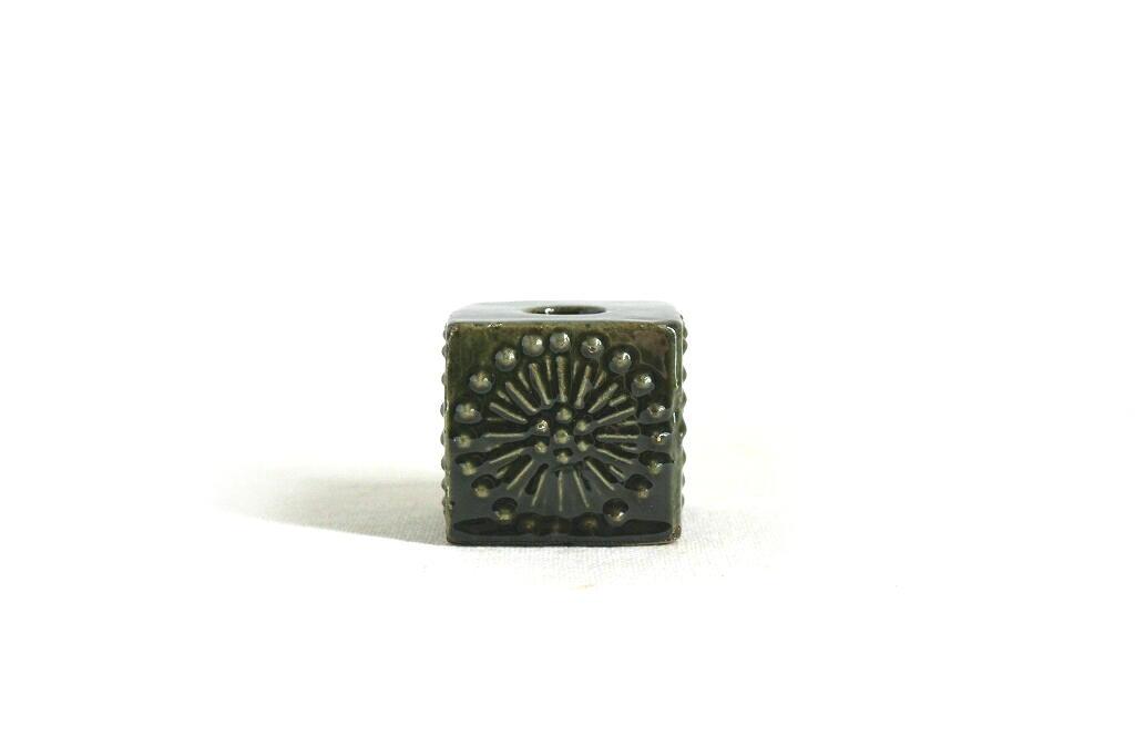 画像1: Upsala Ekeby ウプサラ エクビー 陶器のキャンドルスタンド (1)