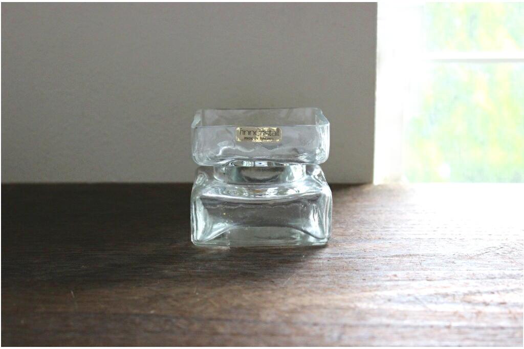 画像1: Riihimaen Lasi(Riihimaki) Pala ガラスのフラワーベース(花器)  (1)
