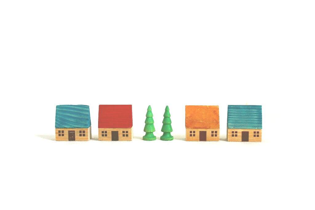 画像1: 小さな木のお家 (1)