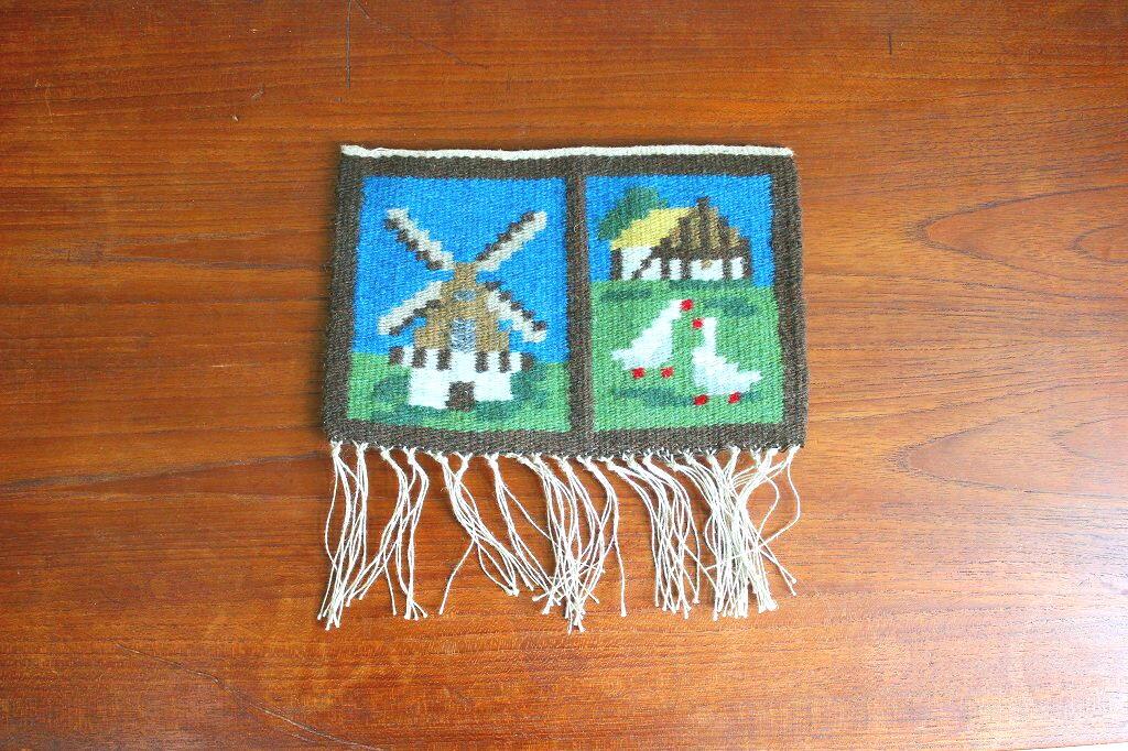 画像1: フレミッシュ織りのクロス (1)