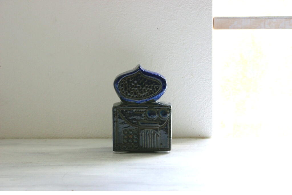 画像1: Gustavsberg Bagdad Bertil Vallien グスタフスベリ 陶器の置物  (1)