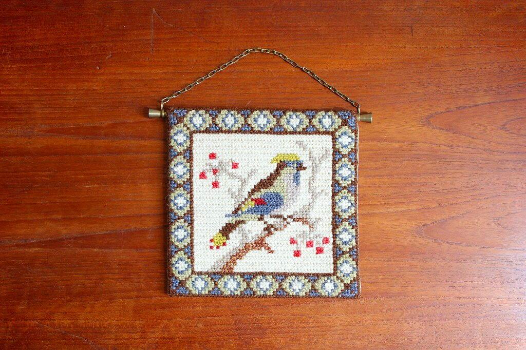 画像1: トゥヴィスト刺繍のタペストリー (1)