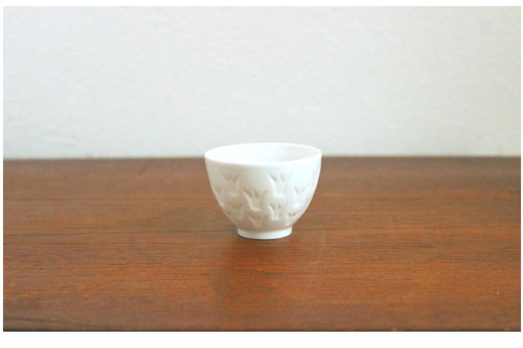 画像1: Rorstrand Gunnar Nylund ロールストランド 陶器のキャンドルスタンド (1)