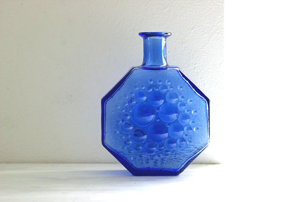 画像1: Riihimaen lasi Stella polaris ガラスのフラワー ベース(花器) (1)
