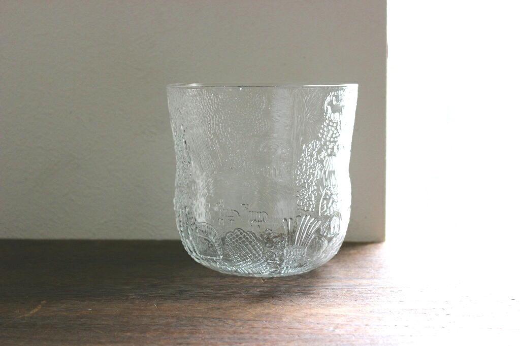 画像1: Nuutajarvi Fauna ヌータヤルヴィ ファウナ ガラスのボウル (1)