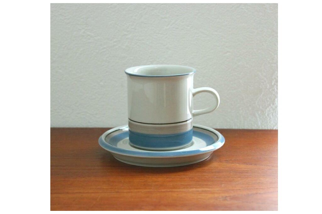 画像1:  ARABIA Uhtua アラビア ウートゥア コーヒーカップ&ソーサー (1)